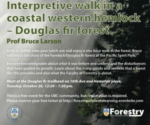 Interpretive Forest Walk in Pacific Spirit Park