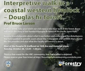 Interpretive Forest Walk in Pacific Spirit Park