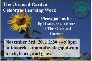 Orchard Garden Celebration of Learning