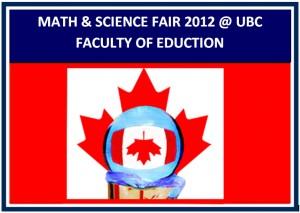 Faculty of Education Math & Science Fair 2012
