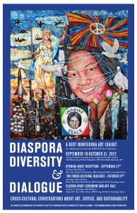 Diaspora, Diversity, & Dialogue Art Exhibition's Cross-Cultural Dialogue and Closing Night Art Sale