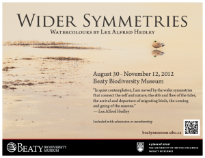 Wider Symmetries: Watercolours by Lex Alfred Hedley