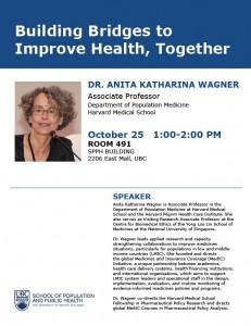 Building Bridges to Improve Health, Together