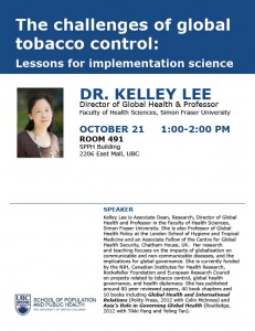 The Challenges of Global Tobacco Control: Lessons for Implementation Science