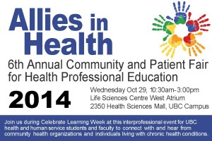 6th Annual Allies in Health Community & Patient Fair